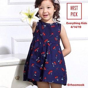 🎉Navy 🎀 🍒 dress